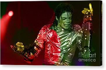 Michael Jackson Painting Canvas Print by Marvin Blaine