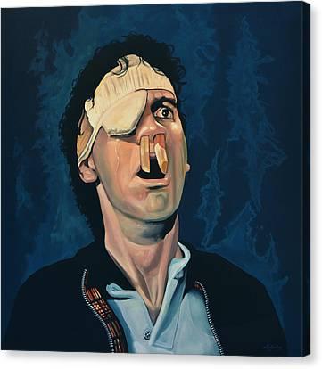 Michael Palin Canvas Print by Paul Meijering