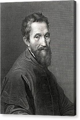Michelangelo Canvas Print by Collection Abecasis