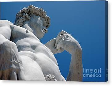 Michelangelos David 2 Canvas Print by Micah May