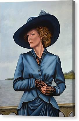 Michelle Pfeiffer Canvas Print by Paul Meijering
