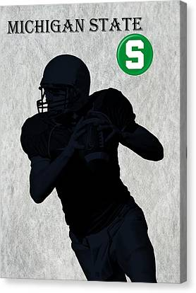 Michigan State Football Canvas Print by David Dehner
