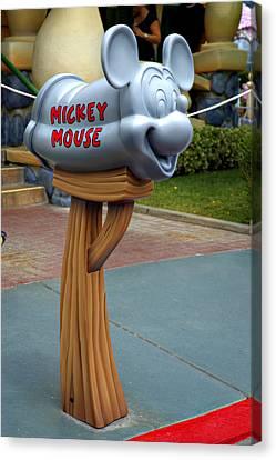 Mickey Mail Canvas Print by Ricky Barnard