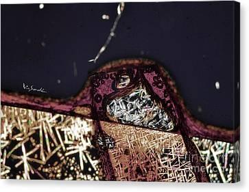 Micro Art Coffee Solution 7 Canvas Print by Vin Kitayama