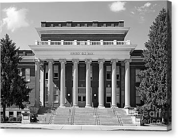 Middle Tennessee State Kirksey Old Main Canvas Print by University Icons