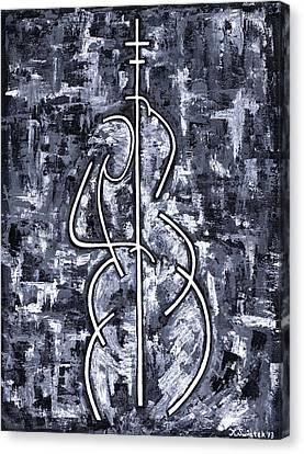 Midnight Blue Canvas Print by Kamil Swiatek
