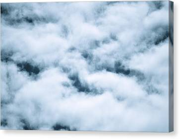Midnight Clouds  Canvas Print by Sheldon Blackwell