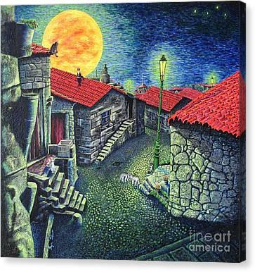 Midnight Concert Canvas Print by Viktor Lazarev
