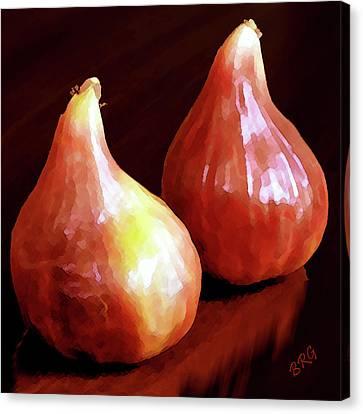 Midnight Figs Canvas Print by Ben and Raisa Gertsberg