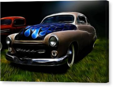 Midnight Merc Canvas Print by Steve McKinzie