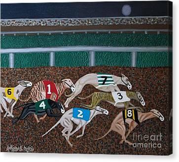 Midnight Run Canvas Print by Anthony Morris