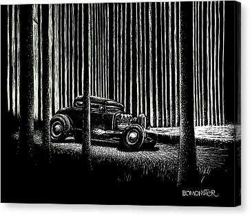 Midnight Run Canvas Print by Bomonster