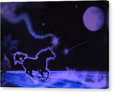 Midnight Run Canvas Print by Kevin Caudill