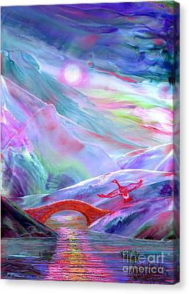 Midnight Silence Canvas Print by Jane Small