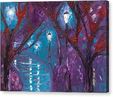 Midnight Soliloquy  Canvas Print by Jessilyn Park