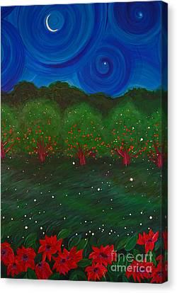 Midsummer Night By Jrr Canvas Print by First Star Art