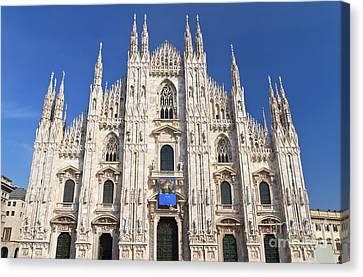 Milan Cathedral  Canvas Print by Antonio Scarpi