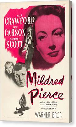 Mildred Pierce Canvas Print by MMG Archives