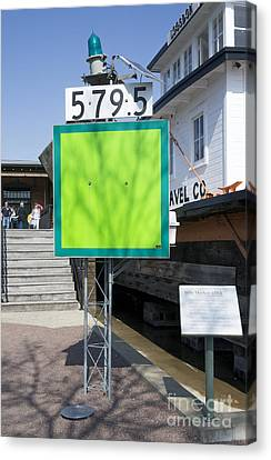 Mile Marker 579.5 Canvas Print by Steven Ralser