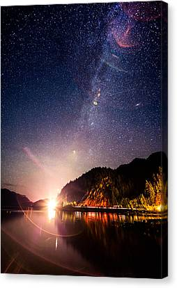 Milky Way Express Canvas Print by Alexis Birkill