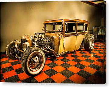 Millers Chop Shop 1929 Dodge Victory Six After Canvas Print by Yo Pedro