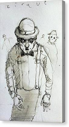 Mime Canvas Print by H James Hoff