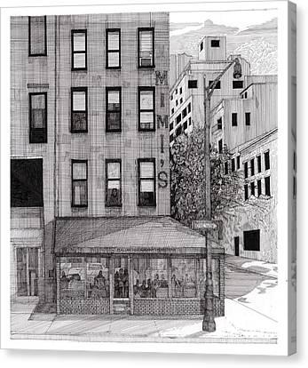 Mimi's Bar Canvas Print by John Fronza