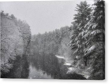 Mine Falls Park - Nashua New Hampshire Canvas Print by Joann Vitali