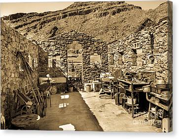 Miner Cabin Canvas Print by Robert Bales