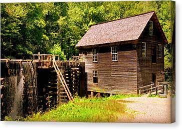 Mingus Mill Canvas Print by Karen Wiles
