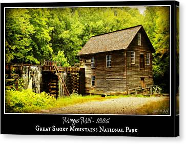 Mingus Mill -- Poster Canvas Print by Stephen Stookey
