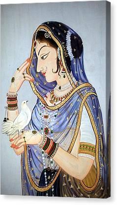 Miniature Closeup Canvas Print by Mayur Sharma