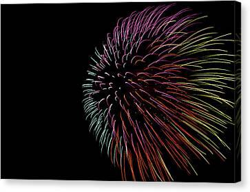 Minnesota, Mendota Heights, Fireworks Canvas Print by Bernard Friel