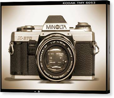 Minolta X-370 Canvas Print by Mike McGlothlen