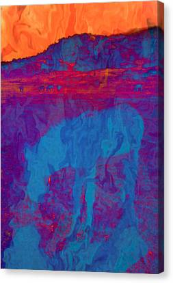 Mirage Canvas Print by Jan Amiss Photography