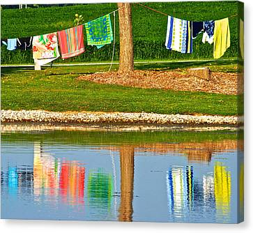 Mirror Image Canvas Print by Frozen in Time Fine Art Photography
