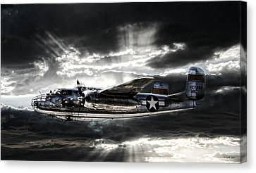 Miss Mitchell Canvas Print by Peter Chilelli