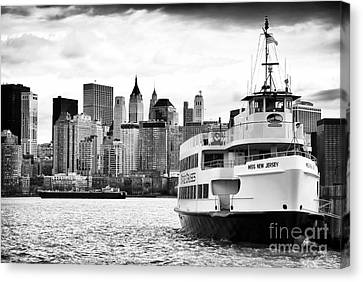 Miss New Jersey Canvas Print by John Rizzuto