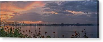 Missed Sunset Canvas Print by Ron  Burt