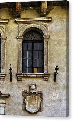 Roman Window Canvas Print by Maria Coulson
