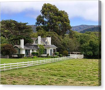 Mission Ranch - Carmel California Canvas Print by Glenn McCarthy Art and Photography