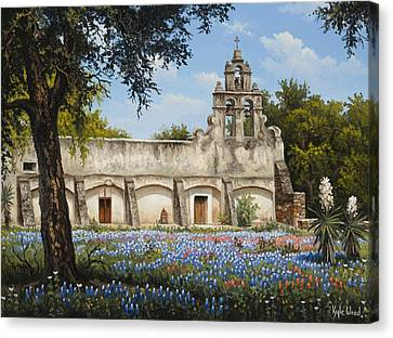 Mission San Juan Canvas Print by Kyle Wood