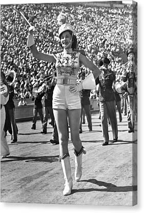 Mississippi Majorette Struts Canvas Print by Underwood Archives