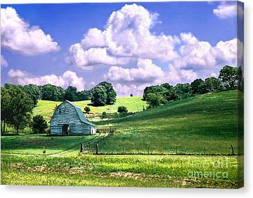 Missouri River Valley Canvas Print by Steve Karol