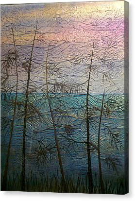 Mist Fantasy Canvas Print by Rick Silas