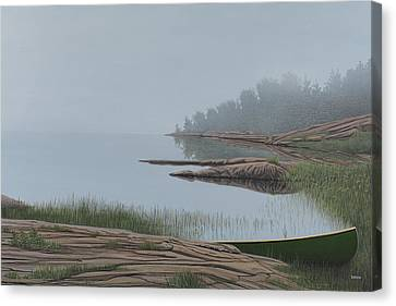 Mistified Canvas Print by Kenneth M  Kirsch