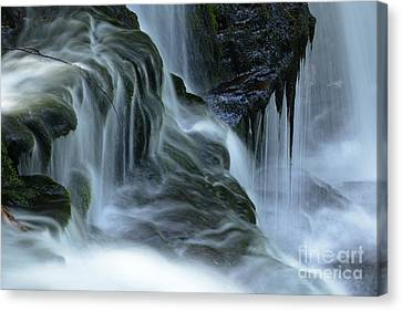 Misty Falls - 70 Canvas Print by Paul W Faust -  Impressions of Light