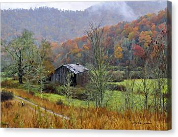 Misty Morn Canvas Print by Kenny Francis