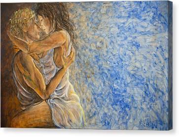 Misty Romance Canvas Print by Nik Helbig