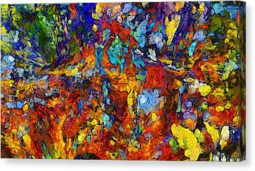 Mixed Emotions Canvas Print by Dan Sproul